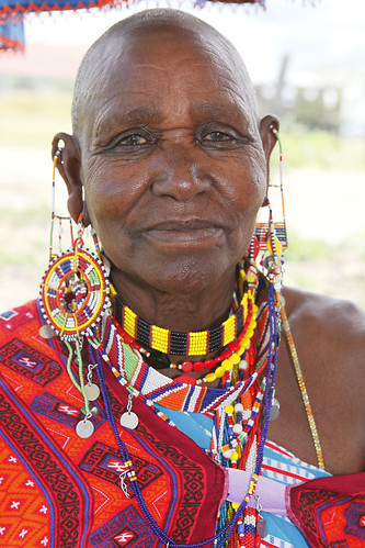 Maasai women with traditional bead work | by World Bank Photo Collection
