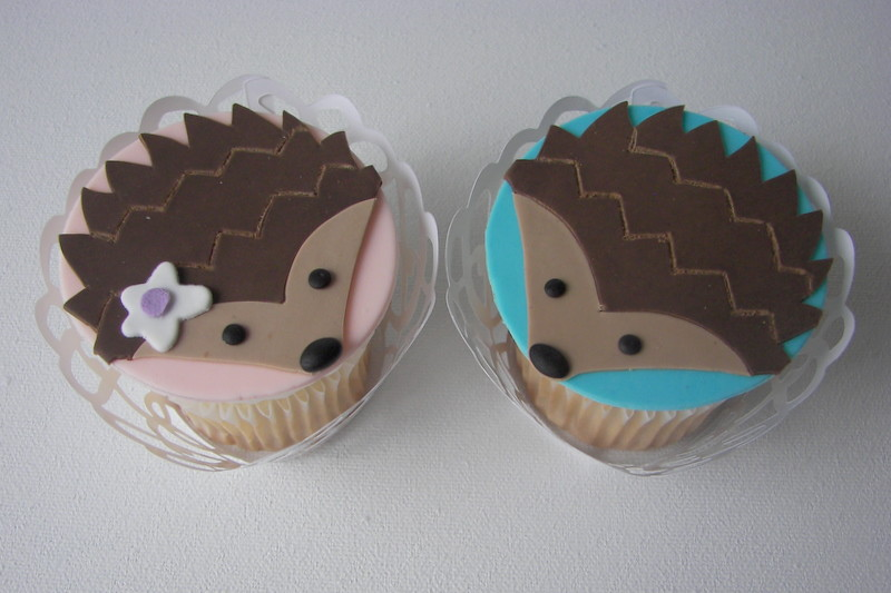 Baby Shower Cakes Eastbourne ~ Related keywords suggestions for hedgehog cupcakes
