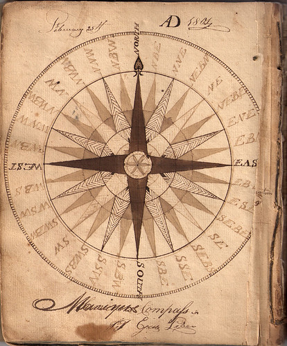 Hand drawn compass 1804 | by Aria Nadii
