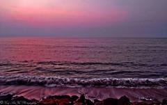 Waves in Tiruchendore by Vivek Rajendran Photography