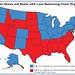 Pro-Union vs Free Labor States