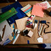 My messy craft area