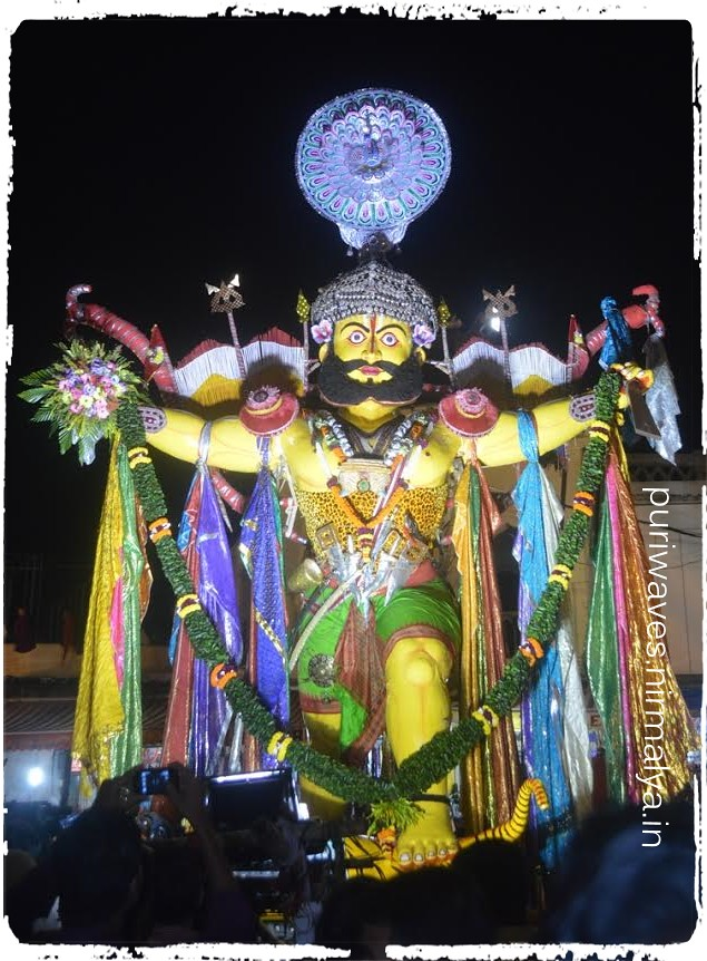Naga Puja During Durga Puja at Puri