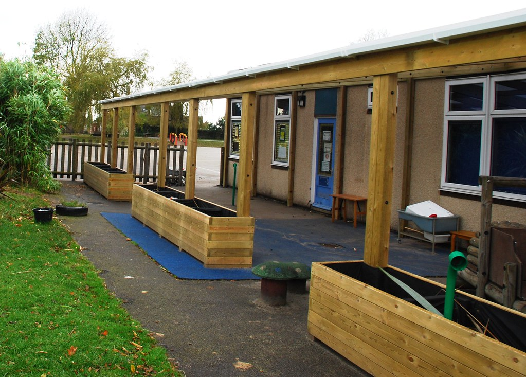 Innovative Outdoor Classroom ~ Wooden lean to shelter outdoor classroom ca