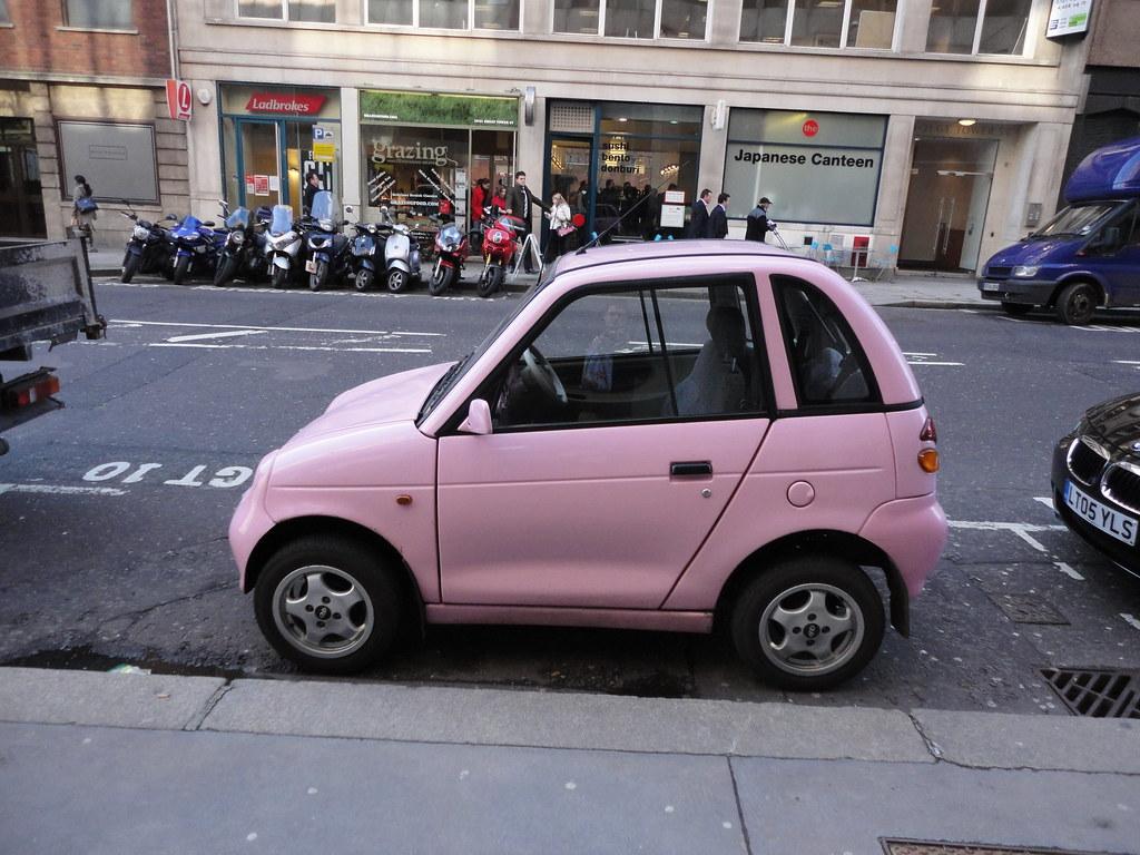 pink car reva g wiz marcel eichner flickr. Black Bedroom Furniture Sets. Home Design Ideas
