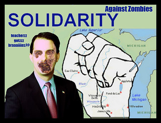 Zombie Governor Scott Walker | by sanchizmodesigns
