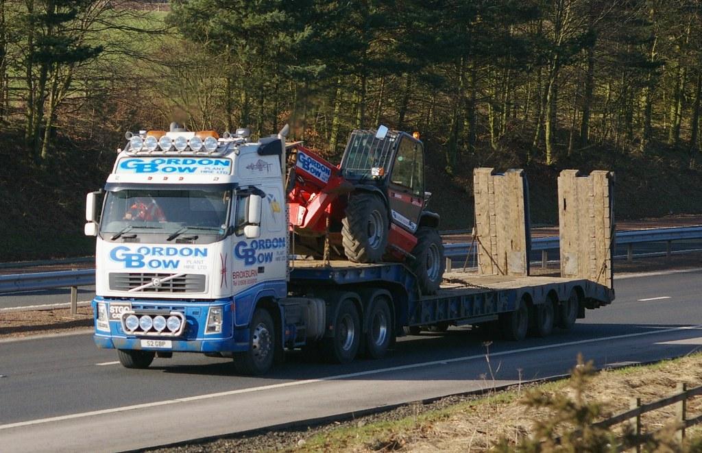 Volvo Gordon Bow Plant Hire Ltd Broxburn West Lothian Scot