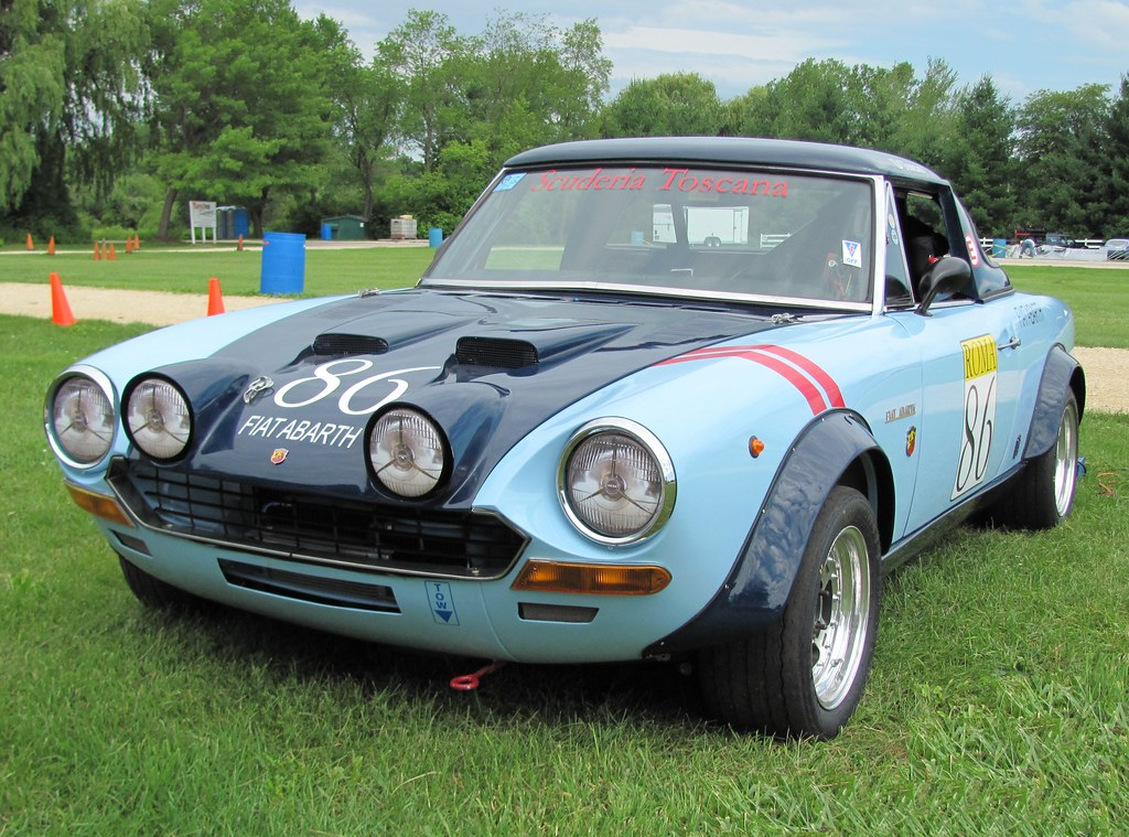 1972 fiat 124 spider csa abarth hardtop vintage race rally flickr. Black Bedroom Furniture Sets. Home Design Ideas