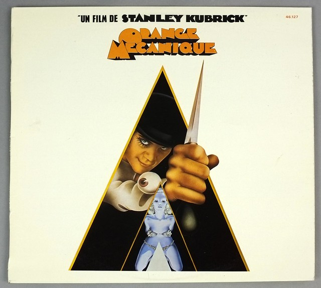 "Orange Mecanique, Clockwork Orange UK GReen Label by Stanley Kubrick OST 12"" LP VINYL"