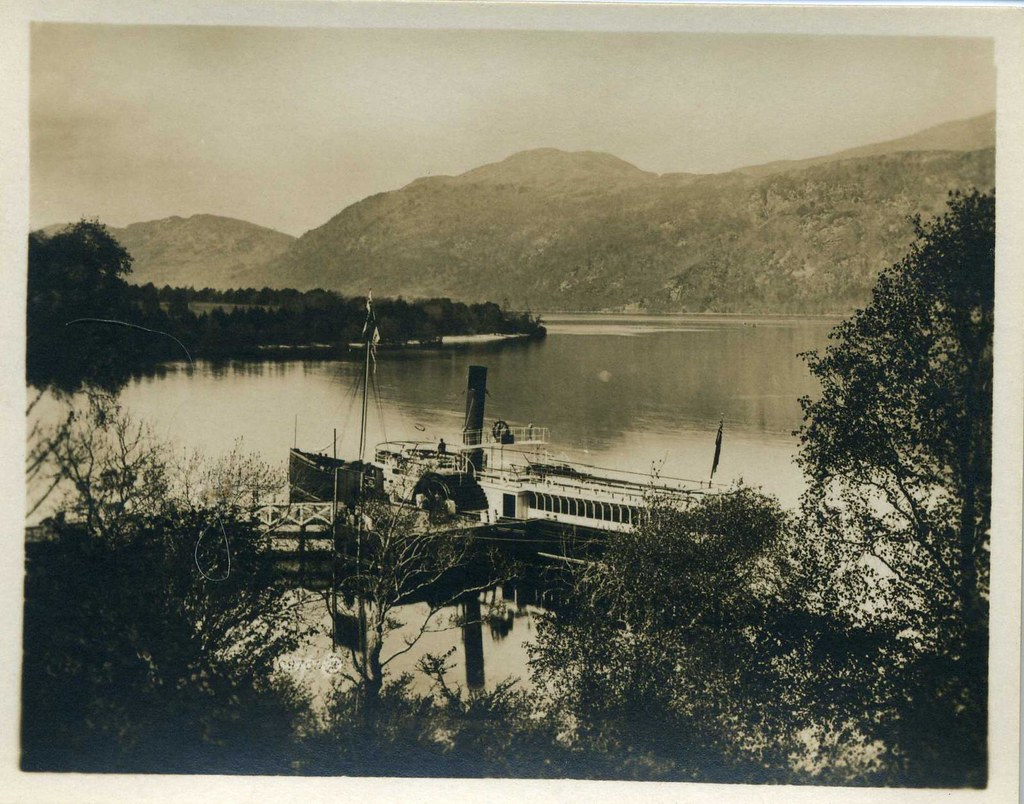 Foyer House Loch Ness : Loch ness and foyers pier pack of vintage souvenir