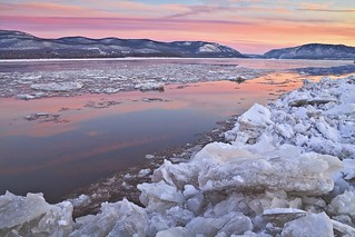 Icy Reflections, Newburgh Bay, 2010 | by Christopher Wisker - Northeastern Travels