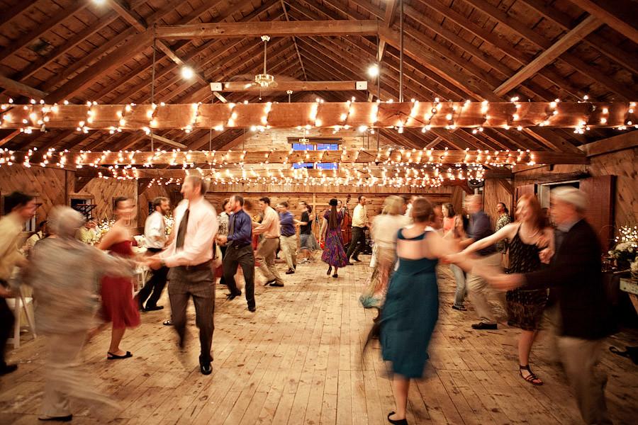 Contra Dancing Wedding Reception
