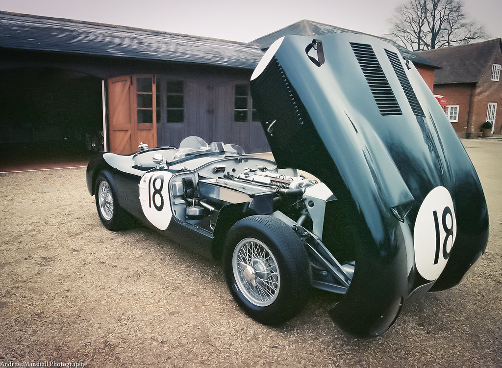 jaguar c type 18 1953 le mans winner film lsf 420 flickr. Black Bedroom Furniture Sets. Home Design Ideas