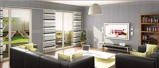 papier peint intiss gris chantemur a la mode depuis que flickr. Black Bedroom Furniture Sets. Home Design Ideas