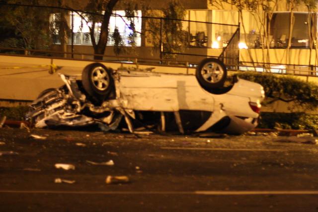 Witness Car Crash