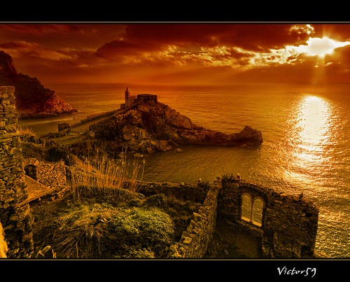 Tramonto a Portovenere | by sirVictor59