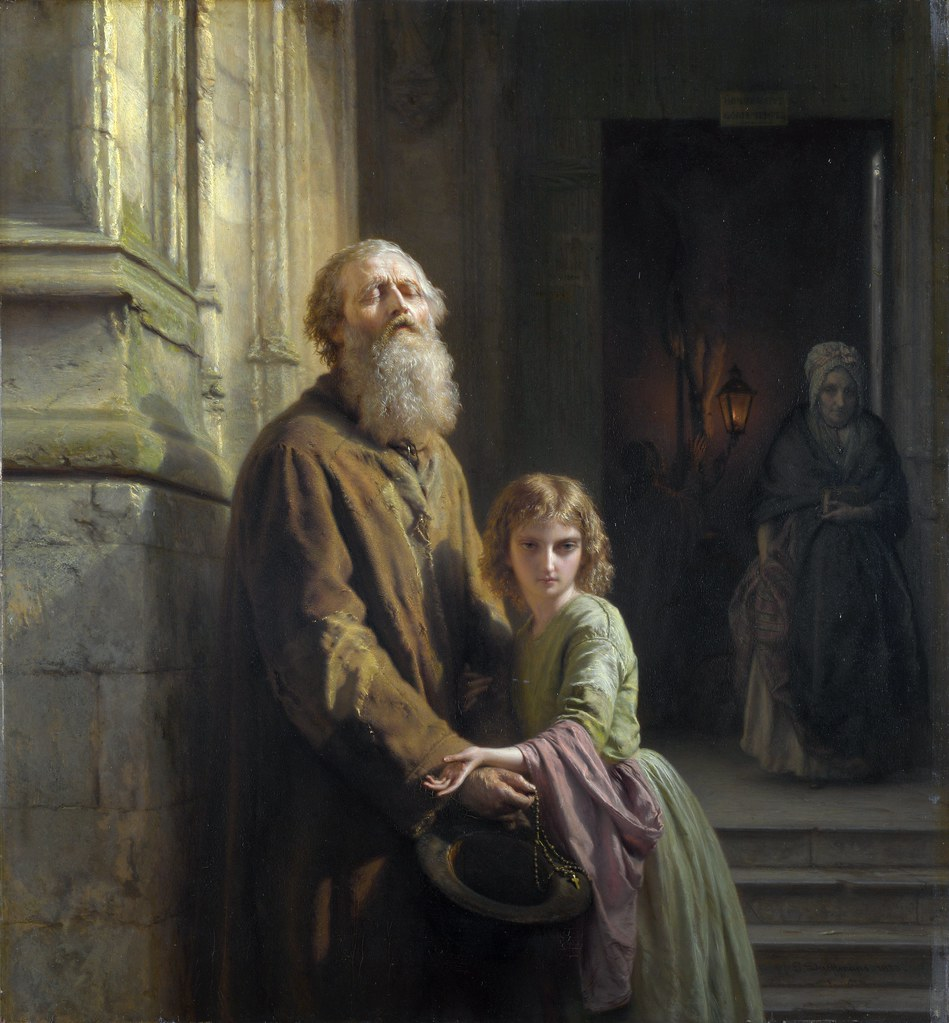Famous Painting Of Woman Begging