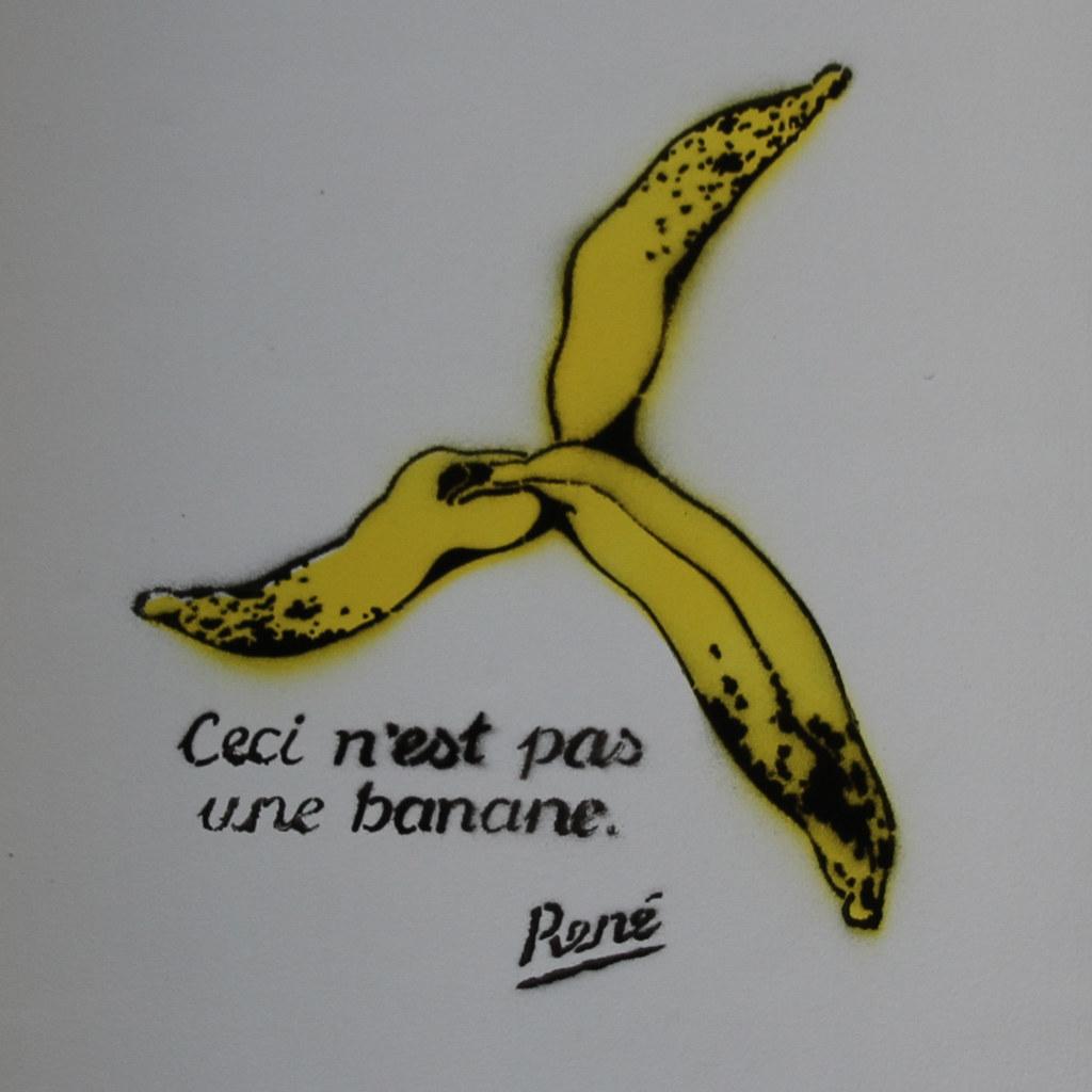 Ceci N Est Pas Une Banane Ren 233 This Is Not A Banana