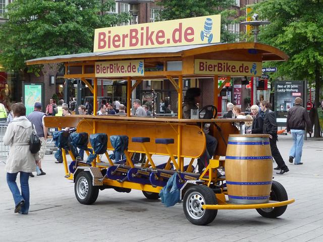 Bierbike Hamburg