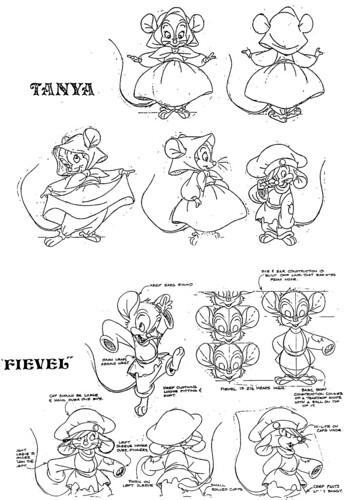free fibel goes west coloring pages | Tanya & Fievel | Flickr - Photo Sharing!