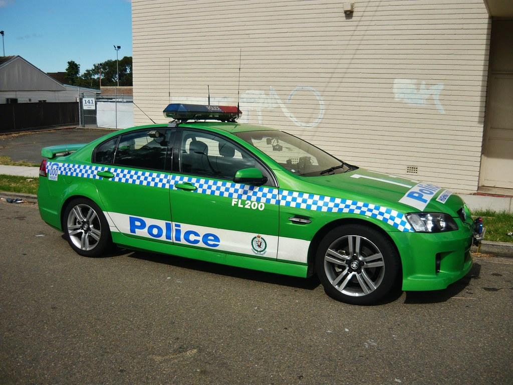 New Police Cars Australia