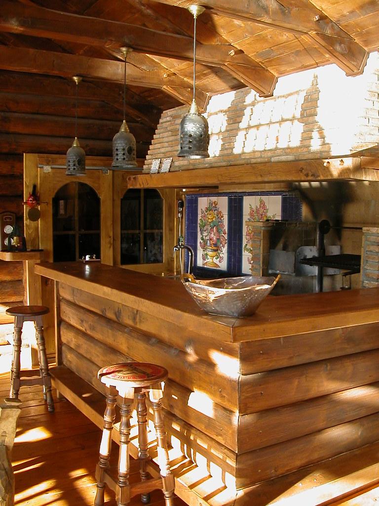 Cocina de madera r stica flickr photo sharing casas - Casas canadienses en espana ...