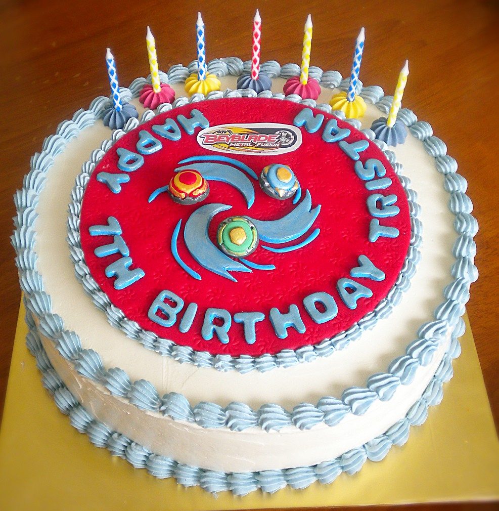 Beyblade Birthday Cake Pan