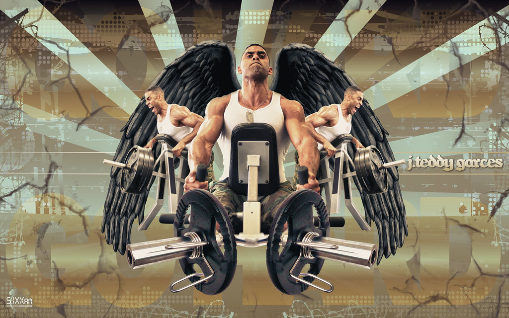 j teddy garces weight lifting wallpaper and screensaver i