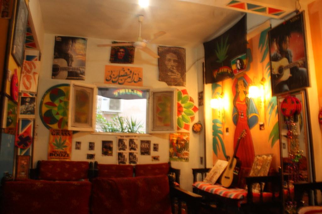 Inside bob marley house my hostel for my three day trip for Inside house photos