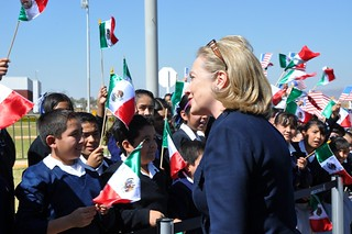Secretary Clinton Is Greeted By Children | by U.S. Department of State