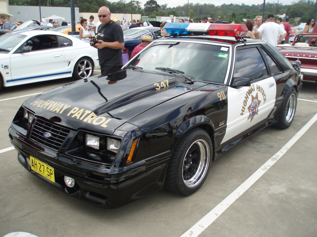 Fox Body Mustang Police Car For Sale