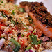 Salmon and Tabbouleh