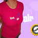 Love Is In The Air T-shirt by Rat On The Run