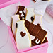 "Neapolitan Milk & Chocolate  Bar ""Puzzle"" Cookies 2"