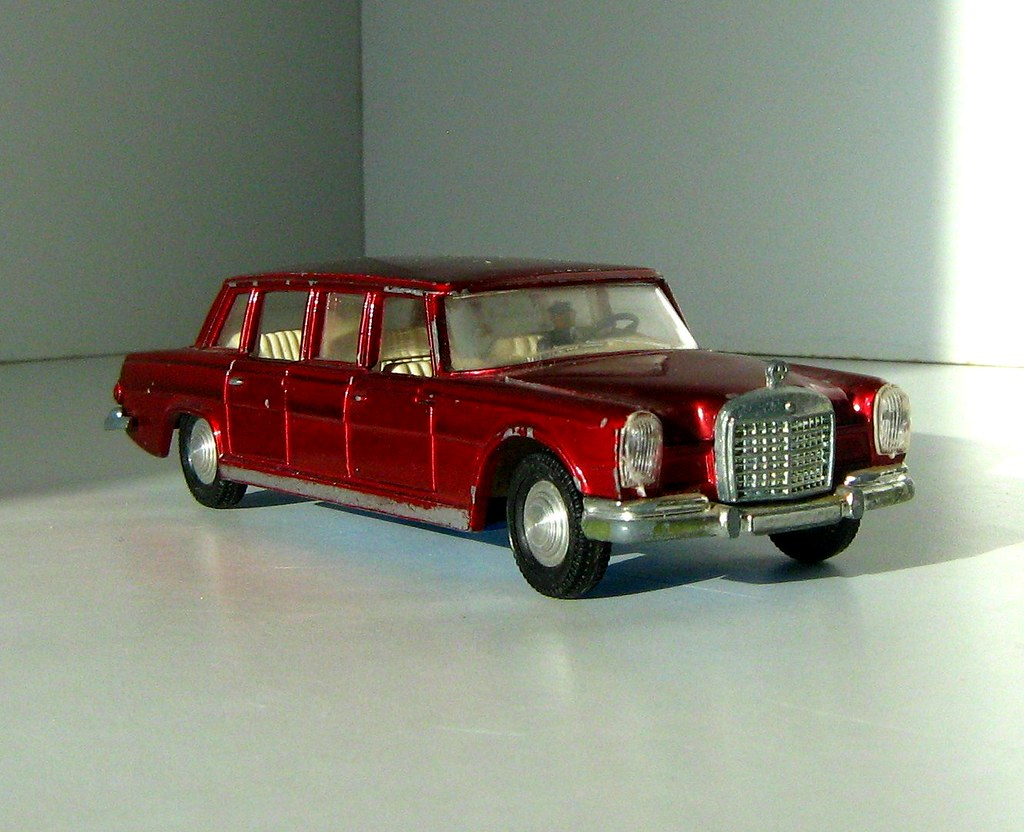 Toy Model Gallery : Dinky toys model no mercedes benz i ve had
