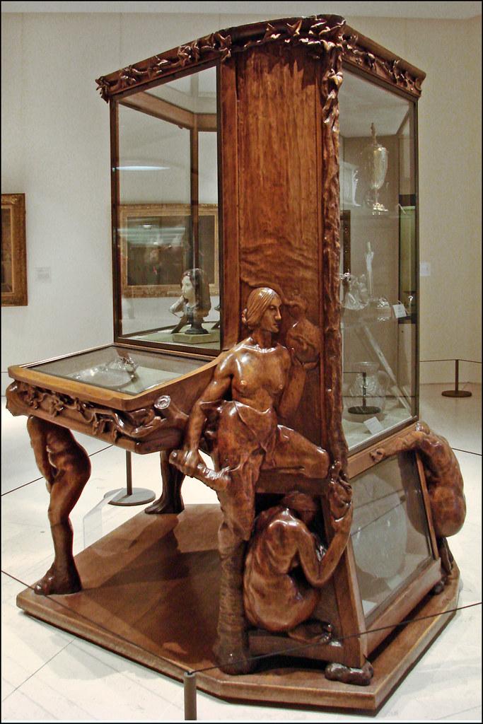Meuble De Francois Rupert Carabin Musee Du Petit Palais Flickr