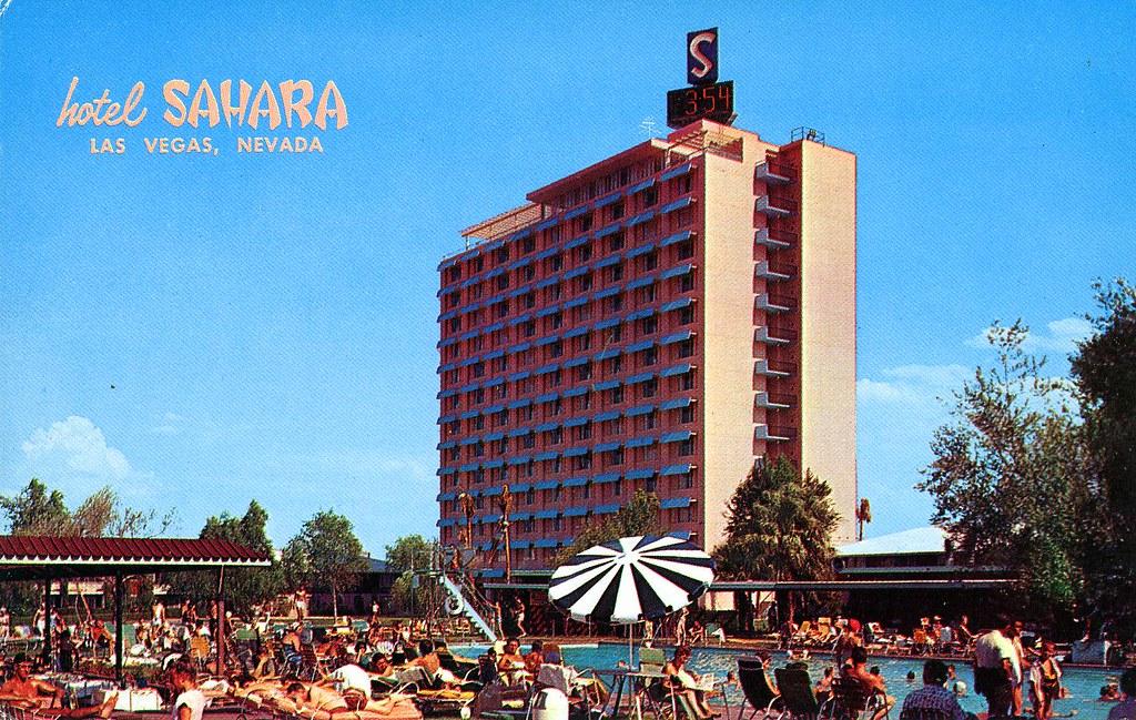 Garden Of Allah Hotel Sahara Las Vegas Nv William Bird