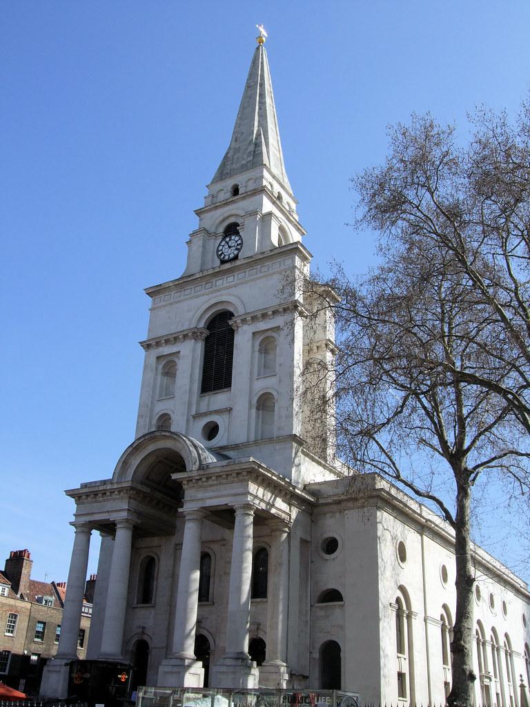 Spitalfields London: Christ Church, Spitalfields - London.