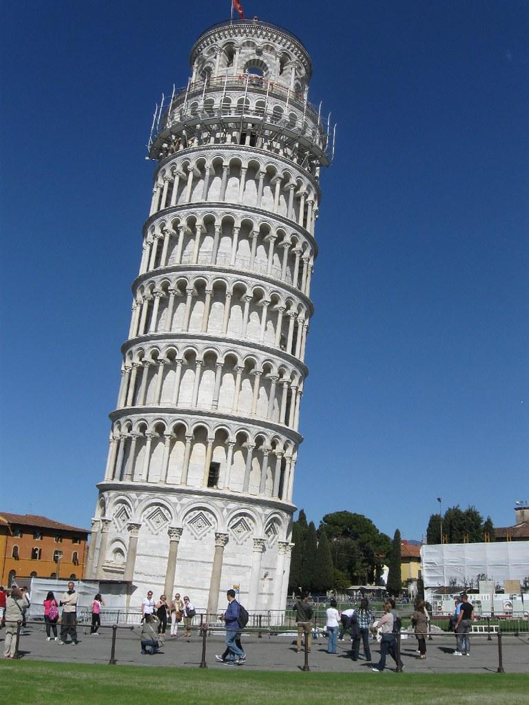 foto de Torre de Pisa Una foto de la torre de Pisa en la que
