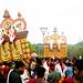 Leaning to pray Lord Vigneshwara
