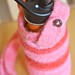felted water bottle carrier