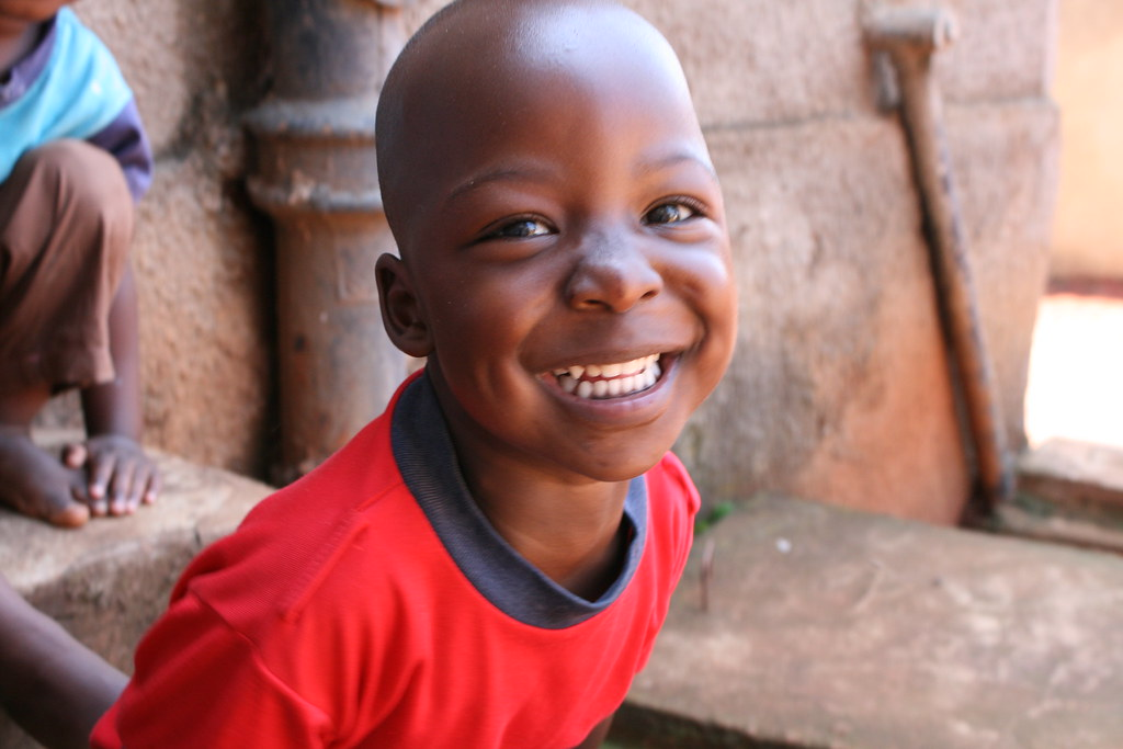Smiling African Boy Җ Check Out My Linkedin Presentation