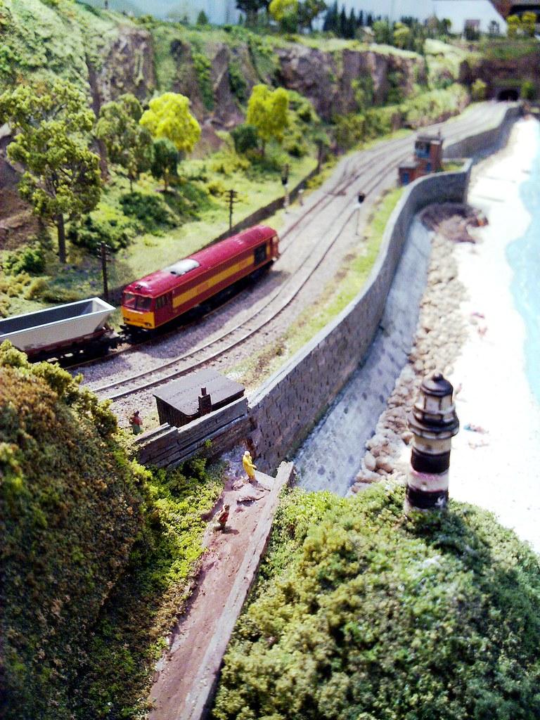 Adlington On Sea N Gauge Seaside Model Railway Layout