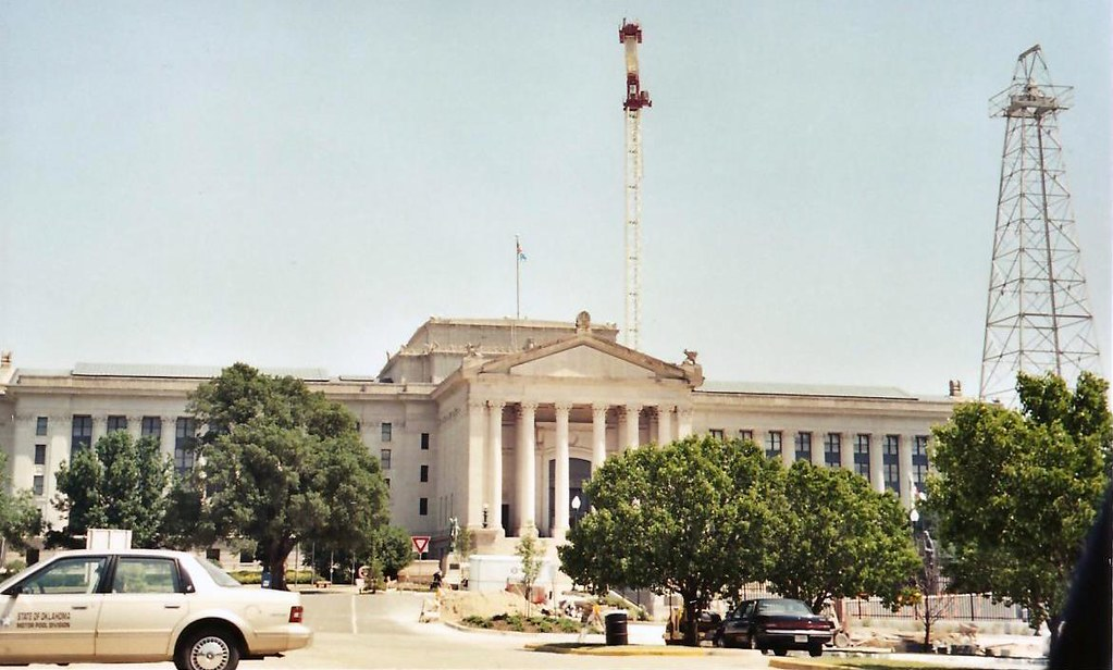 Oklahoma State Capitol Building Map