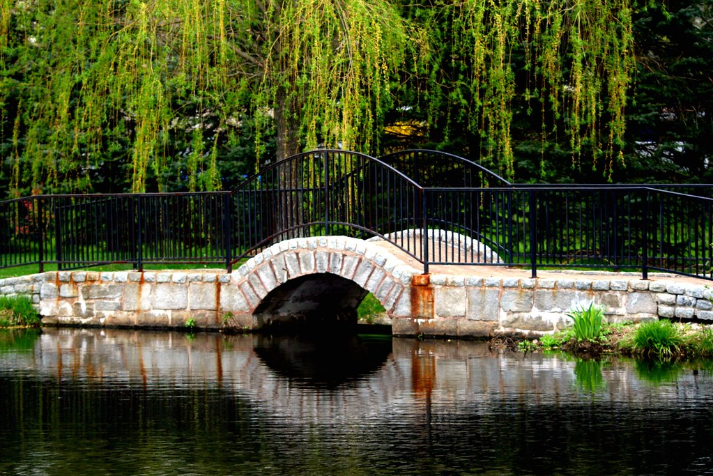 Bridge At Garden Barn Nursery Vernon Ct Christina