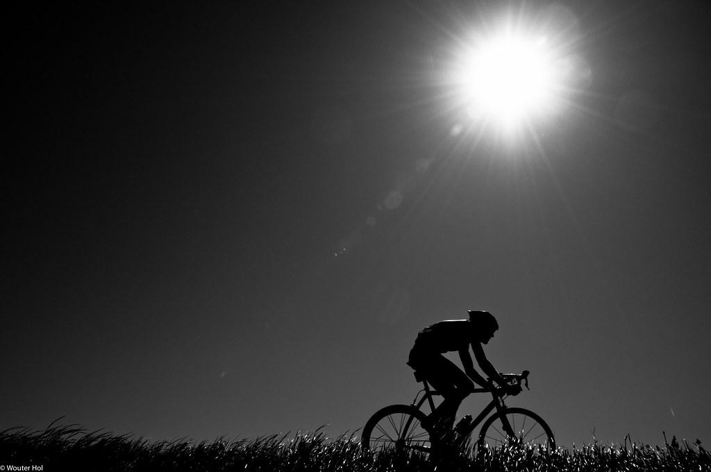 Eenzame fietser / lonely cyclist with 6bft! | Molenomloop ...