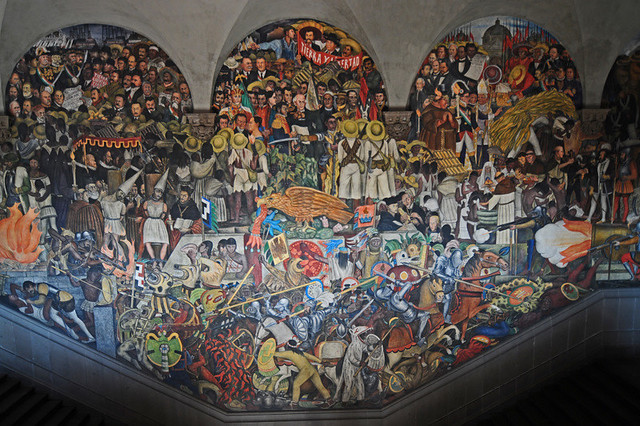 mural diego rivera palacio nacional flickr photo sharing