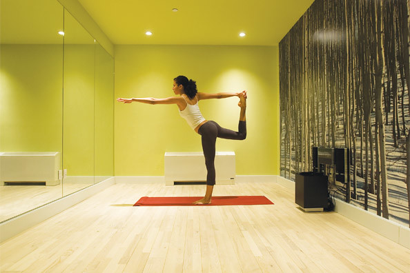 Obbp yoga room mns flickr for How to make a yoga room