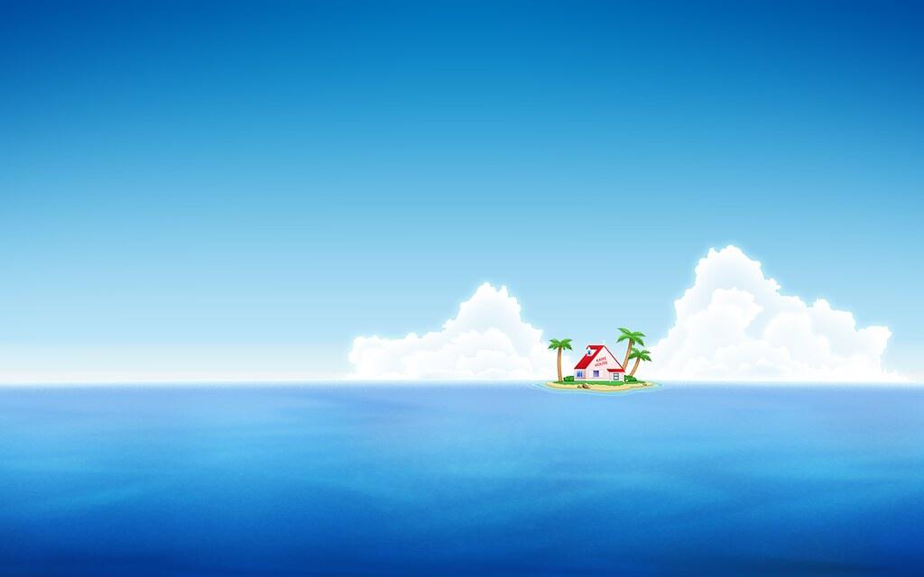 Master Roshi S Island Wallpaper