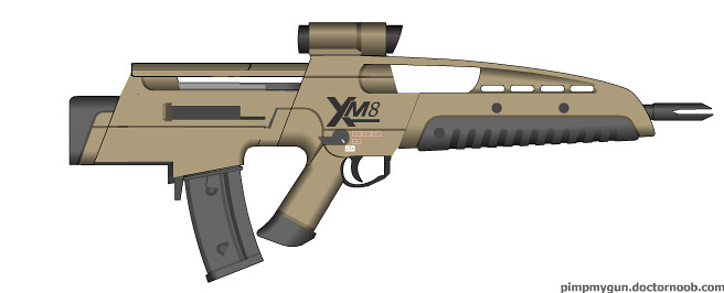 Bullpup XM8   Made in ...